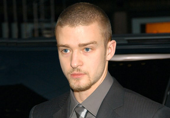 Justin Timberlake Buzz Haircut