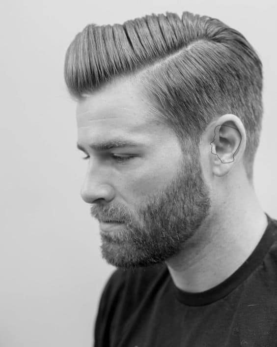 Side Part Undercut Hairstyle Men