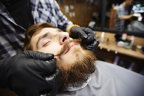 Use Beard Wax to Straighten
