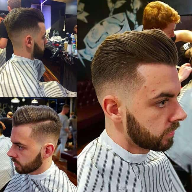 Double Layer Undercut Hairstyle