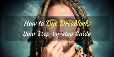how to dye dreads