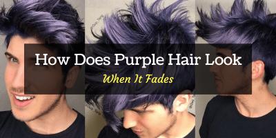 What does purple hair look like when it fades