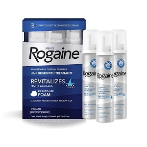 do you have to wash your hair everyday when using rogaine